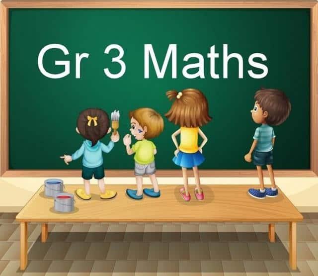Gr 3 Maths