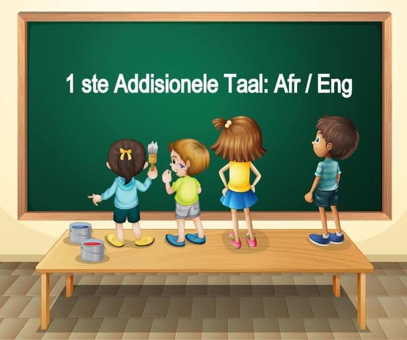 1ste Addisionele Taal Afr & Eng