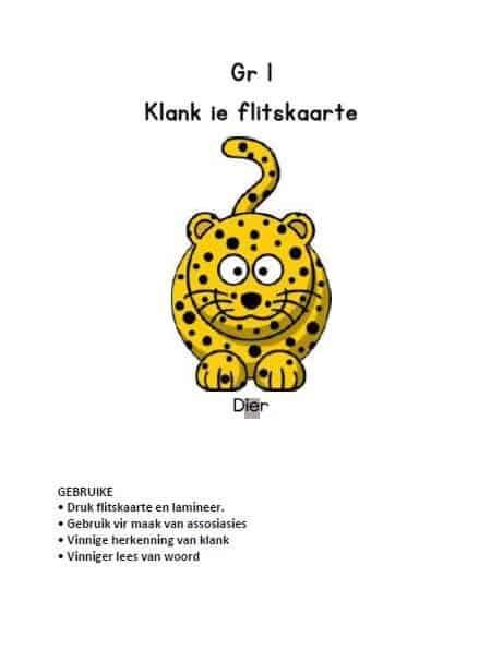 GR 1 KLANK ie FLITSKAARTE