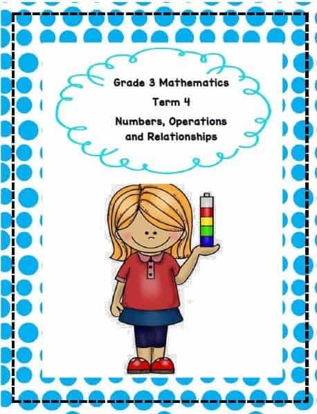 Gr3 Maths Numbers, Operations & Relationships